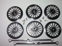 0-6-0 43mm Driving Wheels